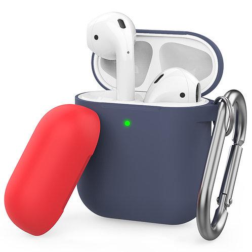 Air Pods保护套2代保护壳苹果无线蓝牙耳机盒防尘防摔硅胶