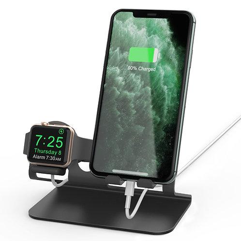 二合一手机支架多功能苹果安卓充电底座