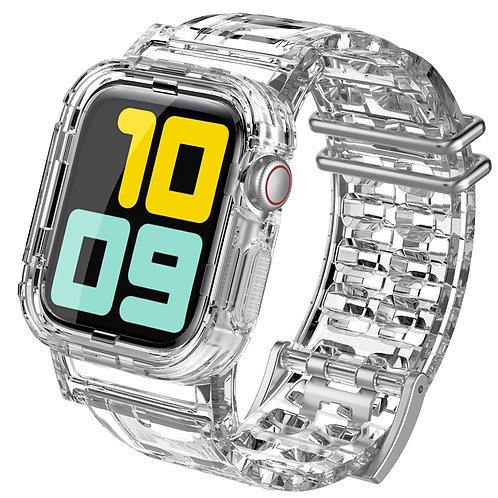 Apple Watch透明表带适用iwatch5/4/3/2/1