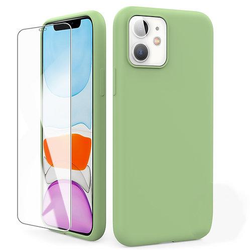 苹果11手机壳新款液态硅胶iPhone11全包防摔iPhone11pro max软壳