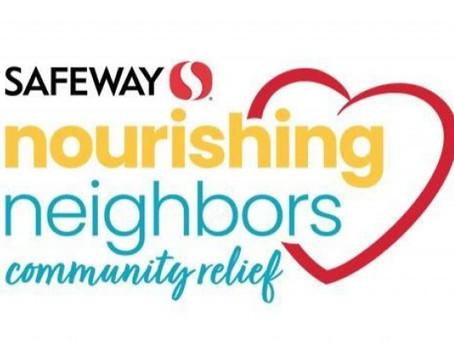 Thank you Safeway Nourishing Neighbors