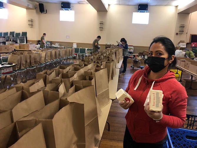 Senior Program Food Bank Volunteer
