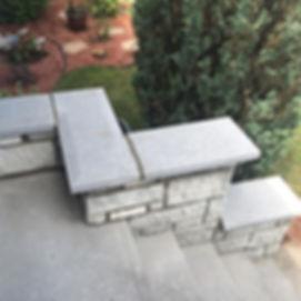 Restauration/rénovation d'un muret en maçonnerie