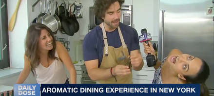 Aromatic Dining-i24 News
