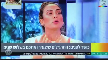 Face Yoga-Keshet Broadcasting