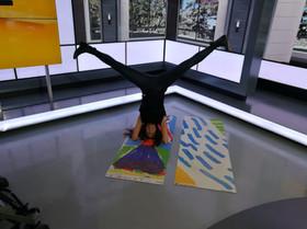 Upside Down in the Studio