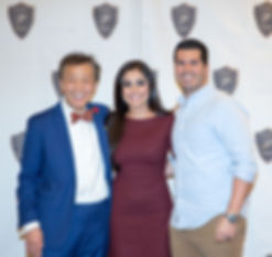 Pinhole inventor Dr. Chao with Legacy Dental team