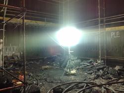Iluminação Caldeira Fibria S/a