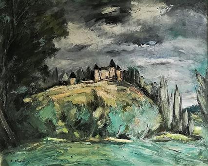 Anders Österlind, « Le Château de Puy-Guillon, à Fresselines».jpg