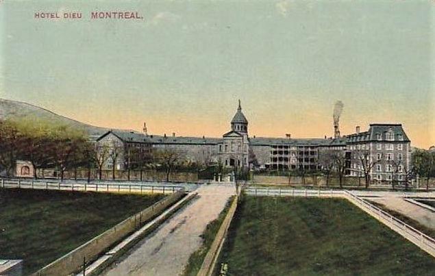 doc. 2  Anonyme, Vue de l'Hôtel-Dieu de