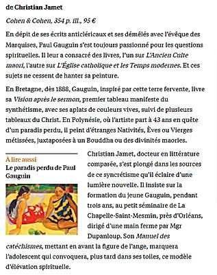 La Croix Gauguin, du Christ au culte mao