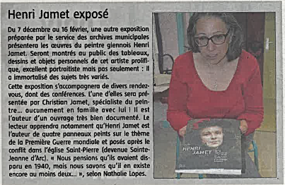 Capture Journal de Gien 10.11.2019 Archi