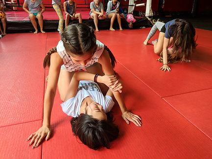 camp hero girls self defense camp