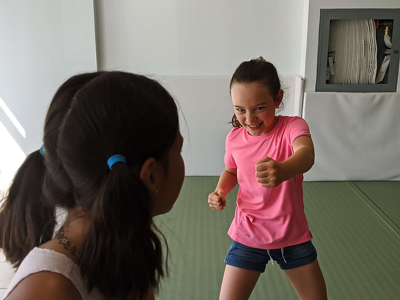 girls self defense and confidence camp
