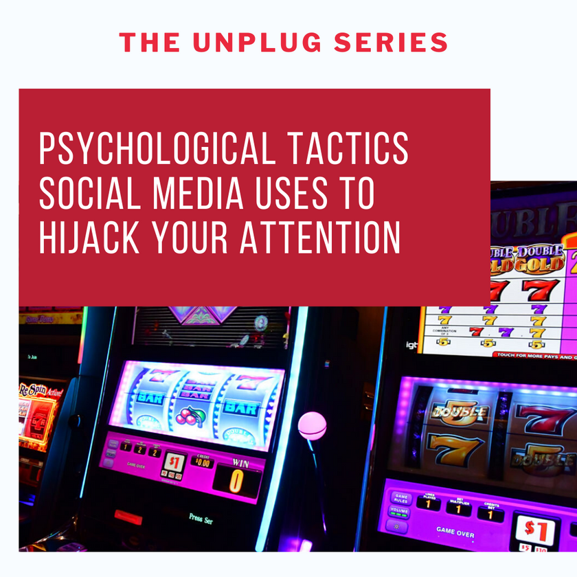 psychological tactics social media attention