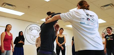 women's self defense workshop in toronto