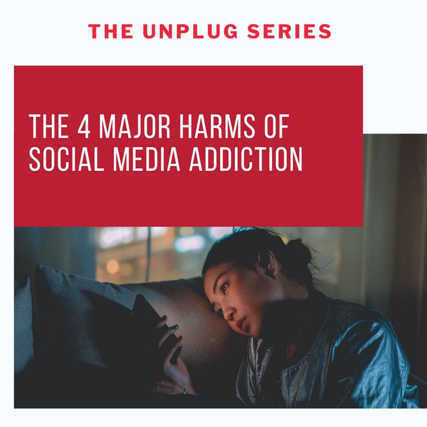 4 major harms of social media addiction