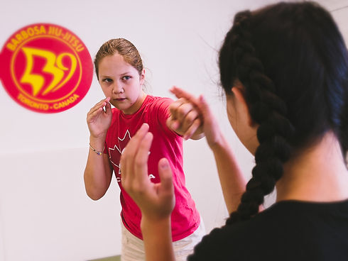 girls self defense class toronto