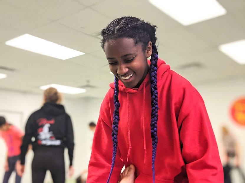 girls and teen self defense camp