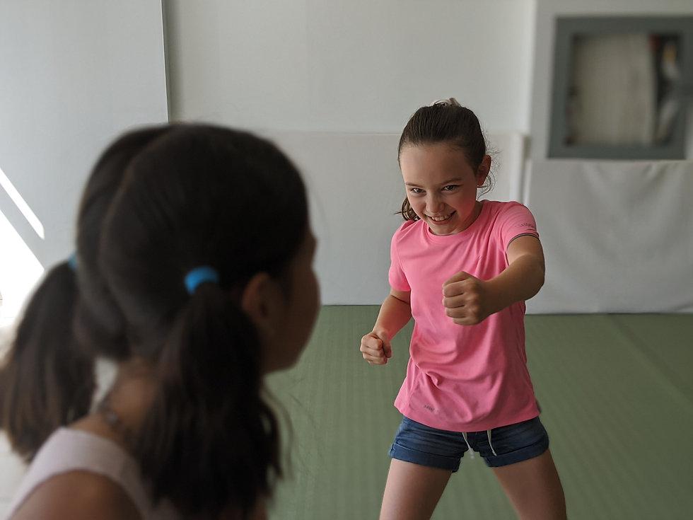 girls self defense and confidence camp toronto