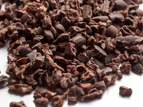 Nibs de cacao orgánico a granel, desde 1g