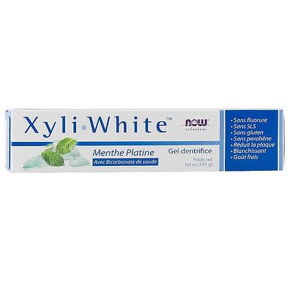Pasta de dientes Xyli White Menta Platino