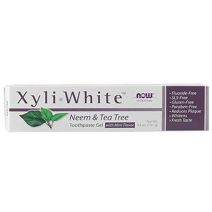 Pasta de dientes Xyli White Neem y Árbol de Té