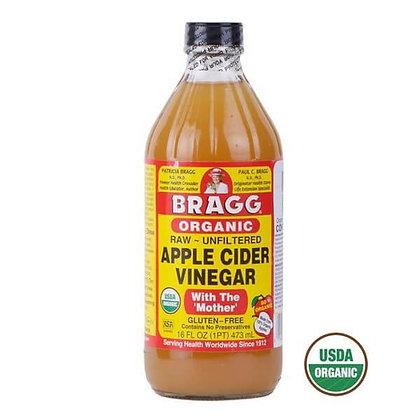 Vinagre de Manzana Orgánico Bragg 473ml