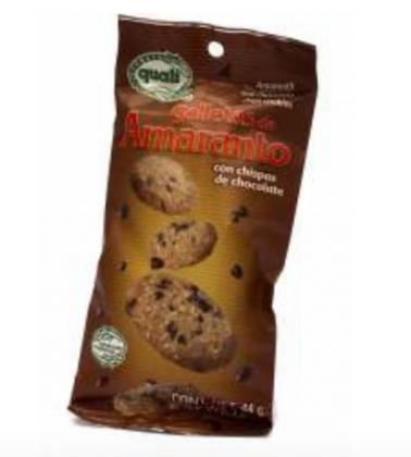 Galletas de amaranto Quali con chispas de chocolate 44 g