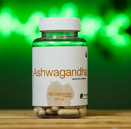Ashwagandha 90 cápsulas vegetales