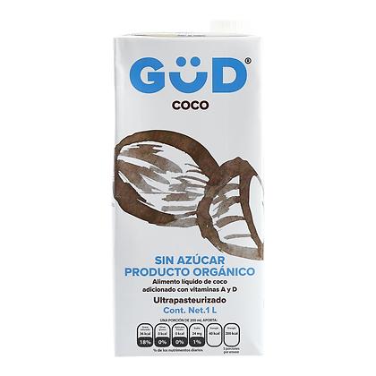 Güd Alimento Líquido (leche) de Coco Sin Azúcar Orgánico