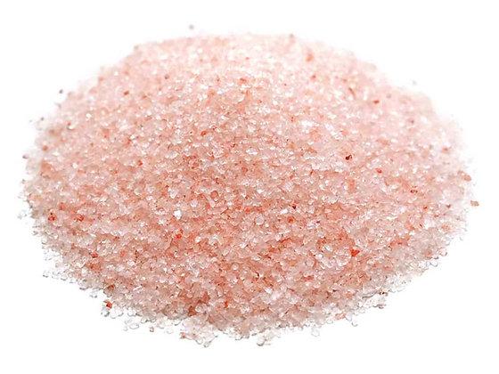 Sal rosa del himalaya molida a granel, desde 1g