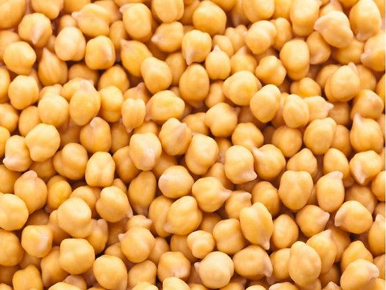 Garbanzo orgánico a granel, desde 1g