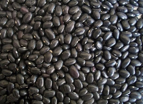 Frijol negro orgánico a granel, desde 1g