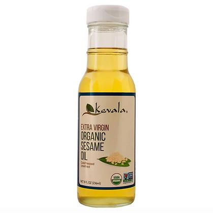 Aceite de Ajonjolí, Extra Virgen, Orgánico, 236 ml