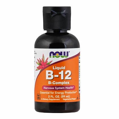 Vitamina B-12 Líquida, Complejo B, 59ml