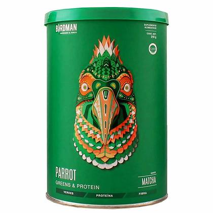 Birdman, Parrot Proteína Verde, Matcha, 210g