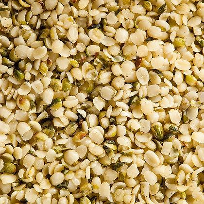 Corazones de HEMP orgánico a granel, desde 1g