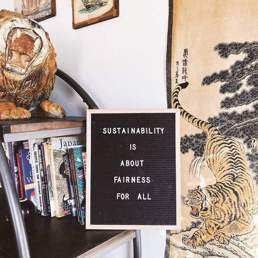 THE NITTY GRITTY OF SUSTAINABLE FASHION