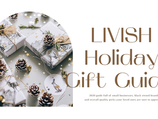 THE LIVISH 2020 GIFT GUIDE