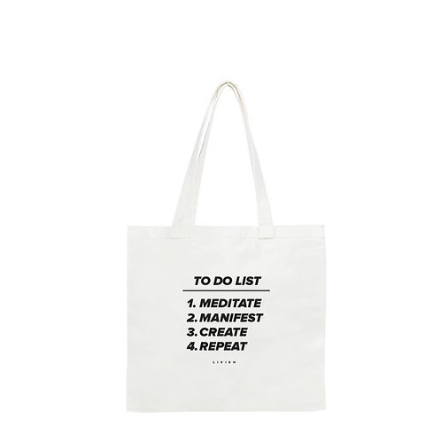 CREATIVE'S TO DO LIST TOTE