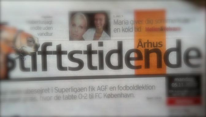 Fodboldlegende Allan Simonsen, Prof. danser Sofie Kruuse og Aarhus Stiftidende
