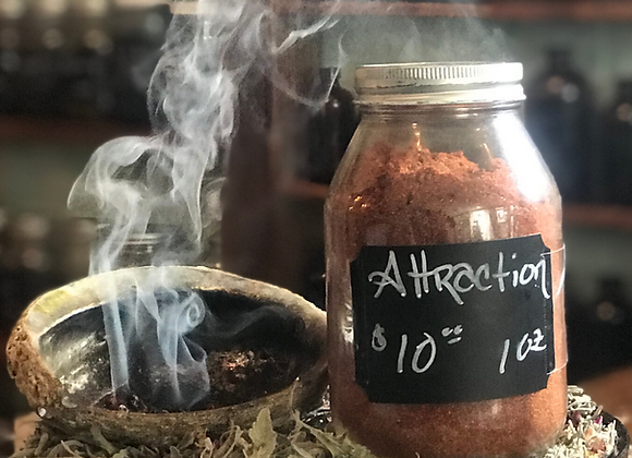 Attraction Loose Incense - 1oz