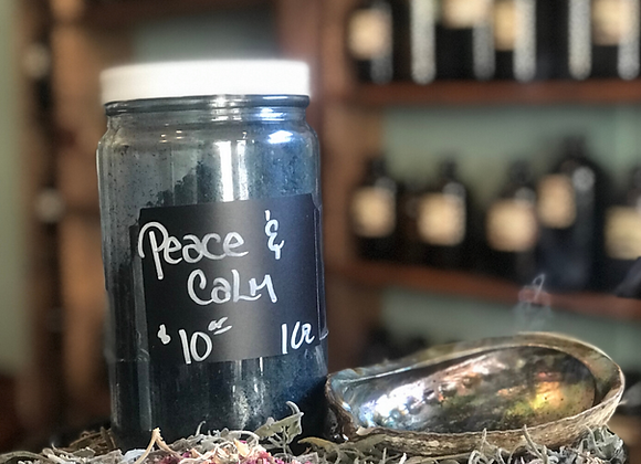 Peace & Calm Loose Incense - 1oz