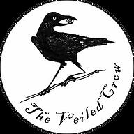 VeiledCrow Logoin White Circle.png