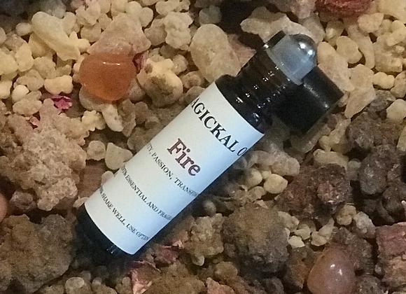 Elemental Fire Magickal Oil