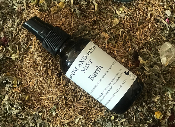 Elemental Earth Room and Body Mist