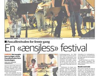 Pascalfestivalen 2014: Bløtkake og musikk!
