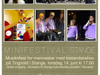 Minifestival på Stange i Hedmark