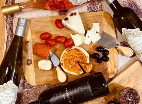 Ontario Wine and Vegan Cheese Pairing